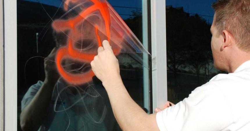 Antigraffiti Windows Film